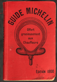 Guide michelin - Edition 1900
